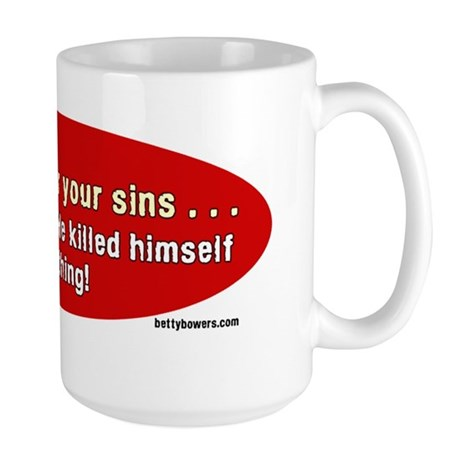 died for nothing Large Mug