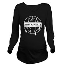 gloWarmPlanetB1B Long Sleeve Maternity T-Shirt