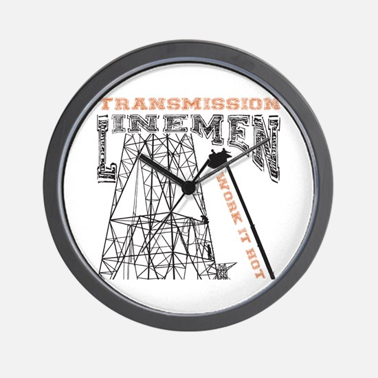 transmission tower Wall Clock