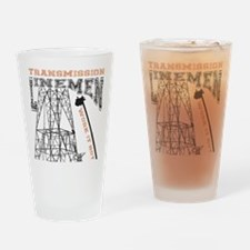 transmission tower Drinking Glass
