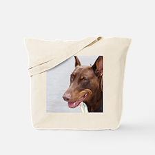 Paint river dog Tote Bag