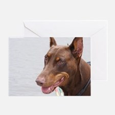 Paint river dog Greeting Card