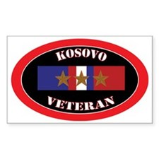 Kosovo-3-oval Decal