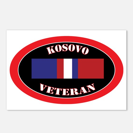 Kosovo-0-oval Postcards (Package of 8)