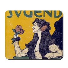 jugend may 14 1900 pillow 1 Mousepad