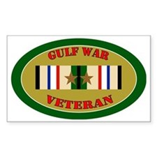 gulf-war-2-oval Stickers