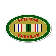 gulf-war-0-oval 35x21 Oval Wall Decal