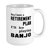 Banjo Large Mugs (15 oz)