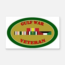 gulf-war-group-0-oval Rectangle Car Magnet