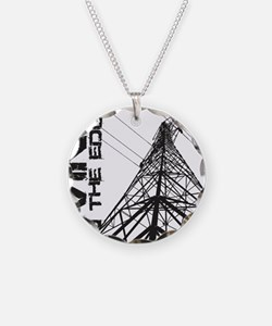 transmission tower edge 1 Necklace