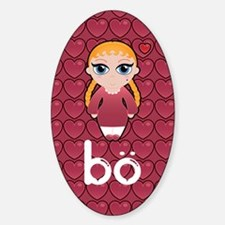 BO notebook Sticker (Oval)