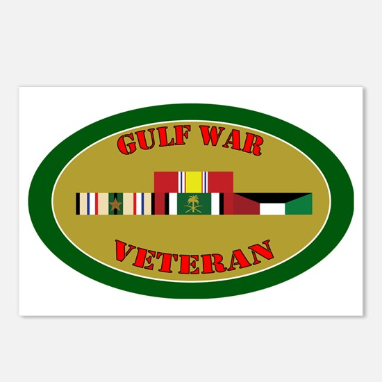 gulf-war-group-1-oval Postcards (Package of 8)