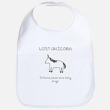 Lost Unicorn Bib