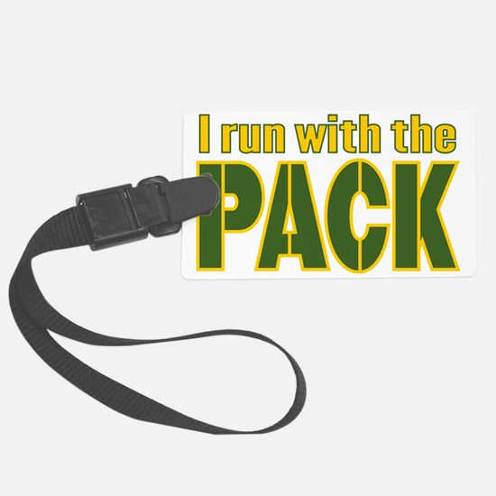 irun-with-the-pack Luggage Tag