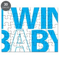 twin Baby B  BLUE golw Puzzle