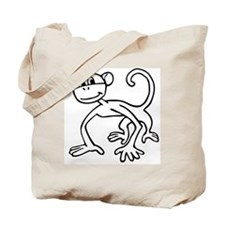 Monkey Tote Bag