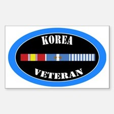 korea-2-1-oval Decal