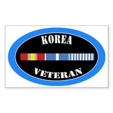 korea-0-1-oval Bumper Stickers