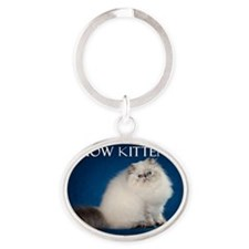 Cover Oval Keychain