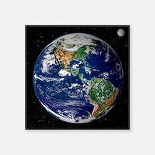 """earth Square Sticker 3"""" x 3"""""""