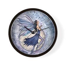 Midnight Blue cp Wall Clock