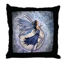Midnight Blue cp Throw Pillow