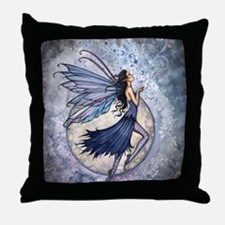 Midnight Blue cp Throw Pillow