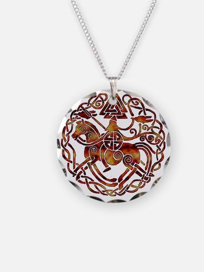 sleipnir2_fire Necklace