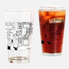 8130_electronics_cartoon Drinking Glass