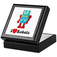 I Love Robots Keepsake Box