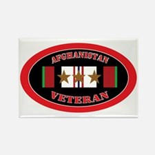 Afghanistan-3-oval Rectangle Magnet