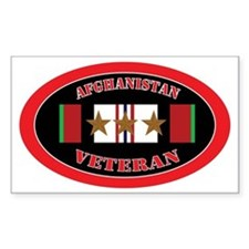 Afghanistan-3-oval Decal
