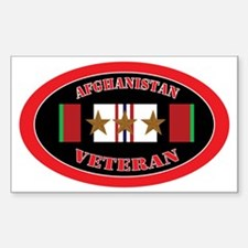 Afghanistan-3-oval Sticker (Rectangle)