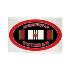 Afghanistan-1-oval Rectangle Magnet