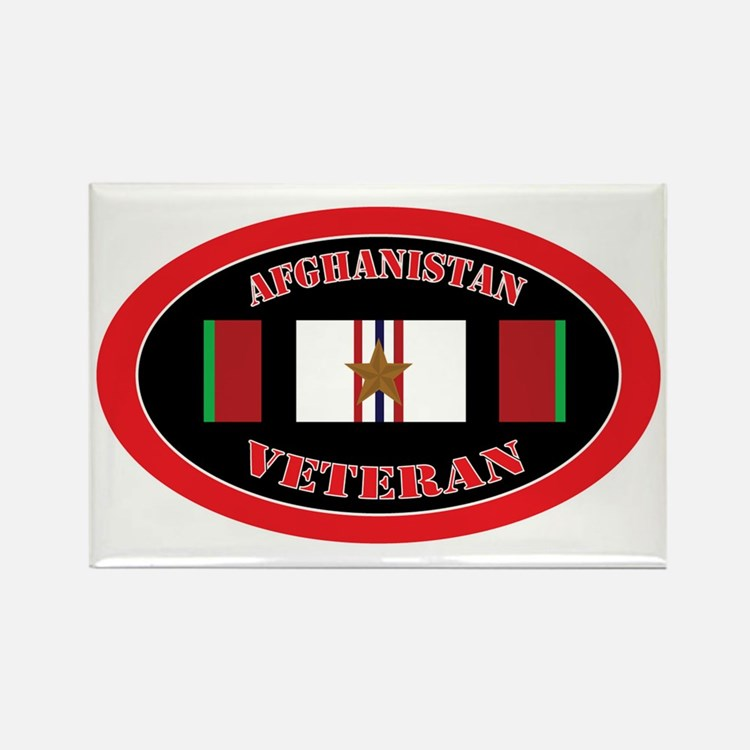 Afghanistan-1-oval Rectangle Magnet