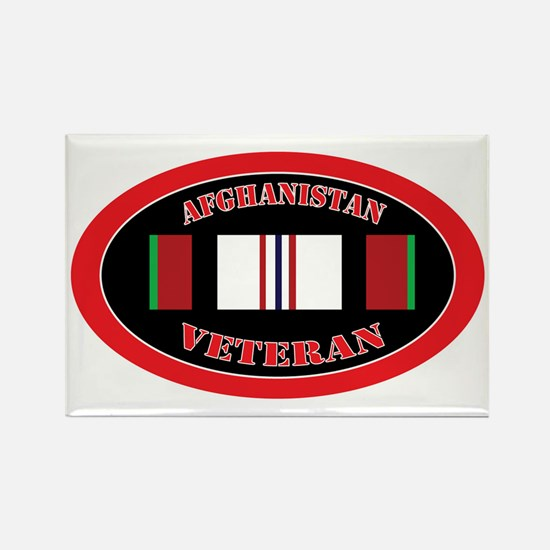 Afghanistan-0-oval Rectangle Magnet