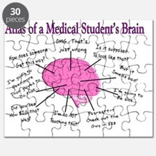 Atlas of a med student brain PINK Puzzle