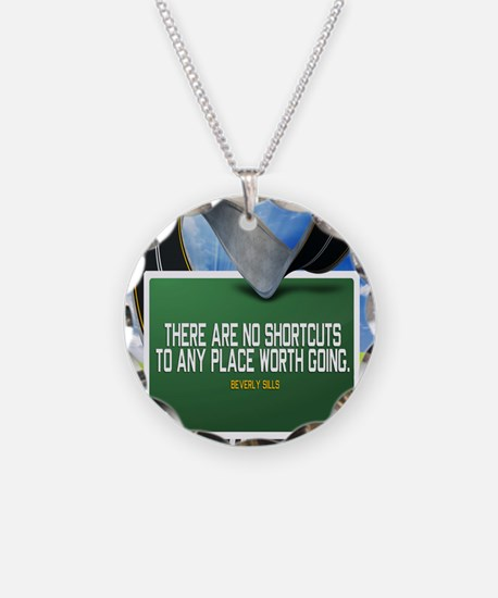 Places Worth Going Quote Necklace