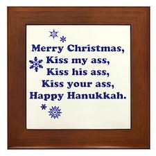 Merry-Xmas Framed Tile
