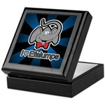 I Love Heart Efalumps Elephant Keepsake Box