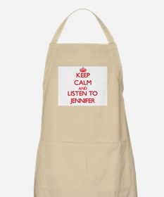 Keep Calm and listen to Jennifer Apron