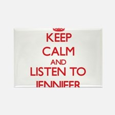 Keep Calm and listen to Jennifer Magnets