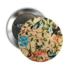 "Botanical Little Robin 2.25"" Button"