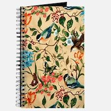 Botanical Little Robin Journal