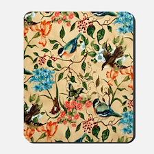 Botanical Little Robin Mousepad