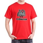 I Love Heart Efalumps Elephant Dark T-Shirt