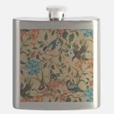 Botanical Little Robin Flask