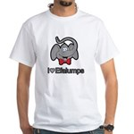 I Love Heart Efalumps Elephant White T-Shirt