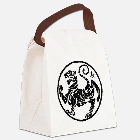 Tiger5InchAlltransparency Canvas Lunch Bag