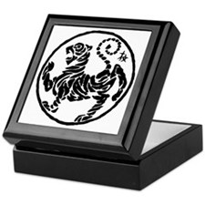 Tiger5InchAlltransparency Keepsake Box